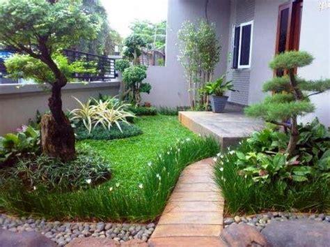 desain taman rumah mewah minimalis modern tips menatanya sendiri
