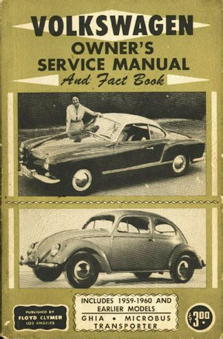 car maintenance manuals 1998 volkswagen rio free book repair manuals thesamba com vw archives type 1 books