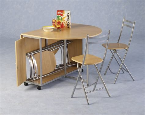 Fold Away Kitchen Table And Chairs Fold Away Table And Chairs Ideas With Images