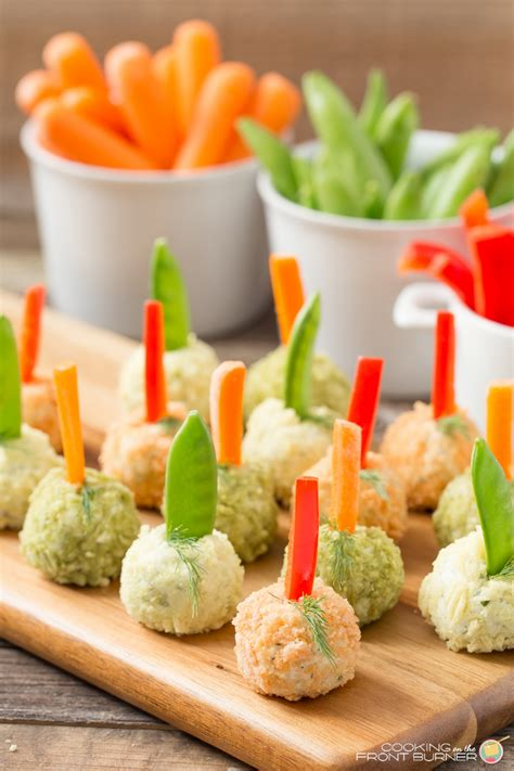 appetizers vegetable veggie dip poppers cooking on the front burner