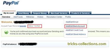 achoshare how to verify paypal without credit card or debit card