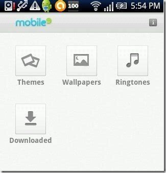 themes ringtones get wallpapers themes ringtones on android mobile9 app