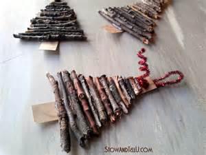 rustic twig christmas tree ornaments stow tellu