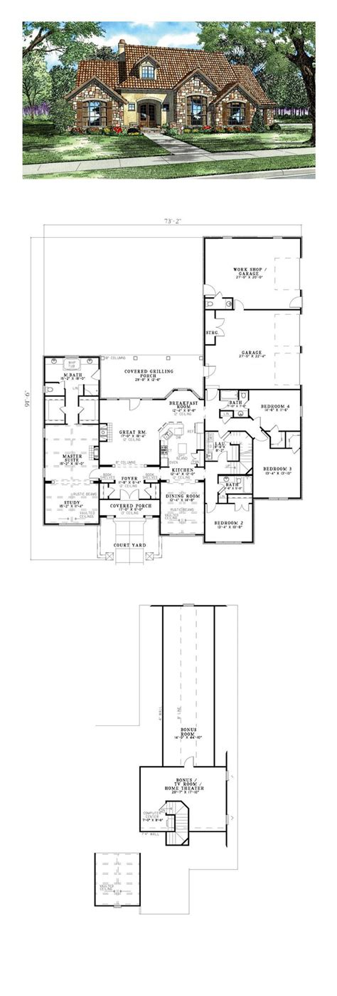 1000 ideas about tuscan house plans on pinterest tuscan tuscan house pinterest plans and floor luxury plan