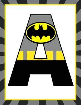 welcome to e r i c c o m super hero classroom decor batman banner letters