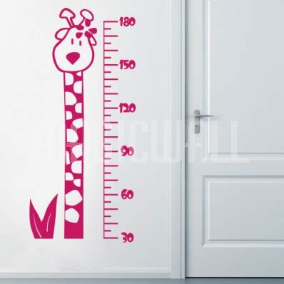 height wall sticker height chart wall decal