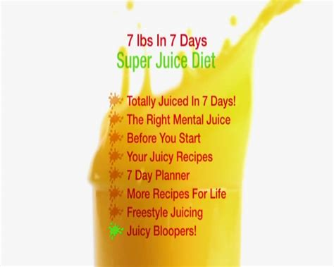 Wow Detox Juice by Jason Vale 7 Lbs In 7 Days Juice Master Diet Avaxhome
