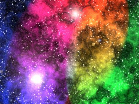 Galaxy Rainbow rainbow nebula by almightyace on deviantart