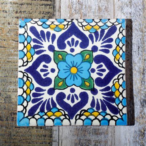 Mexican Handmade Tiles - mexican handmade tile iiuvia azul mediterranean