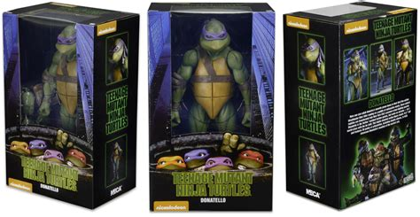 figure packaging neca tmnt 1990 figure packaging