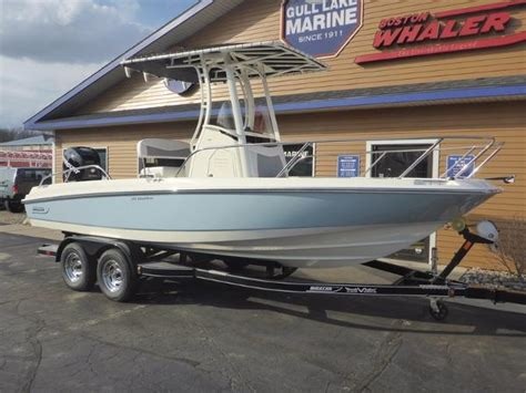 boston whaler boats michigan 2016 boston whaler 210 dauntless richland michigan