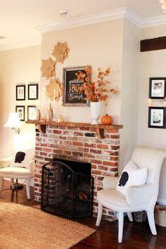 skies of parchment the cottage at 341 south my red brick fireplace transformed santa s grand