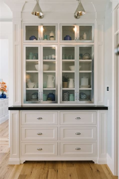 built in cabinets for kitchen kitchens to love on pinterest butler pantry white
