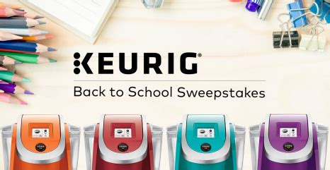 Keurig Sweepstakes - keurig back to school sweepstakes win a keurig brewer sweepstakes in seattle