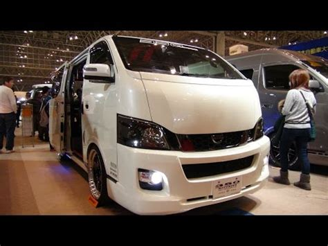 nissan caravan modified hd nissan caravan nv350 modified auto salon 2016