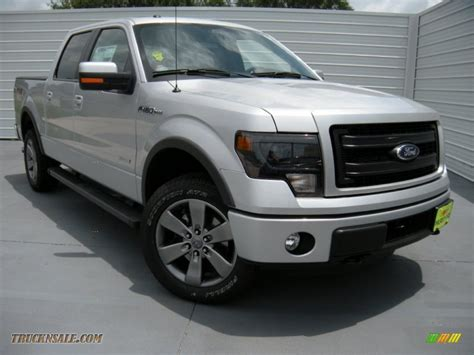 2014 Ford F150 Fx4 Supercrew 4x4 In Ingot Silver E81830