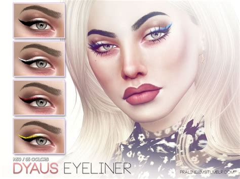 mod the sims acute eyeliner 10 styles 317 best sims cc makeup images on pinterest sims cc