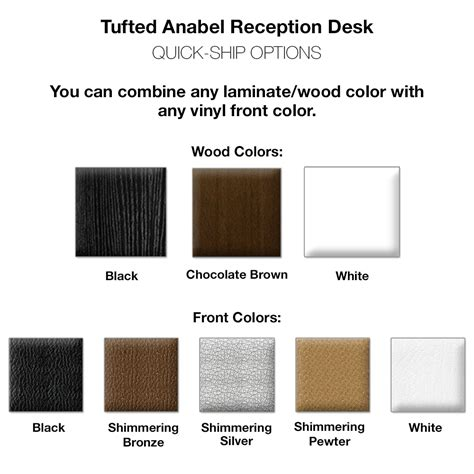 Anabel Reception Desk Anabel Tufted Salon Front Desk With Drawer Reception Desk