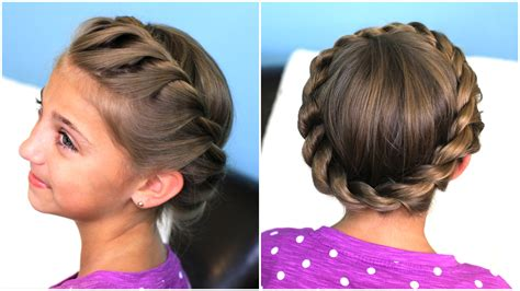 crown rope twist braid updo hairstyles