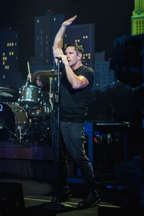 Nine Inch Nails Has Set An April 17 Release Date by Nine Inch Nails Taped For Acl Tv Pics Setlist Now On