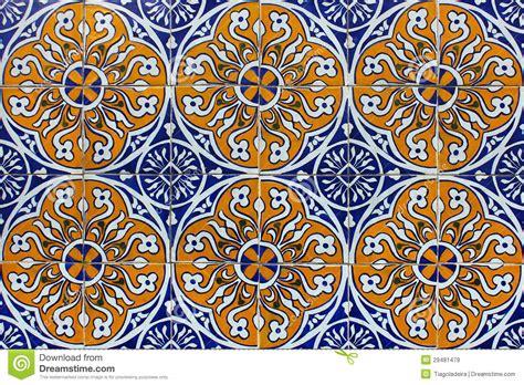piastrelle portoghesi azulejos mattonelle portoghesi immagini stock libere da