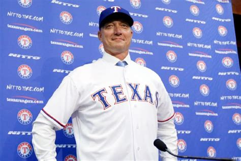 jeff banister texas rangers gm jon daniels drawn to manager jeff banister s authenticity
