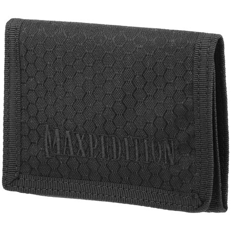 maxpedition wallet maxpedition tri fold wallet black other pouches