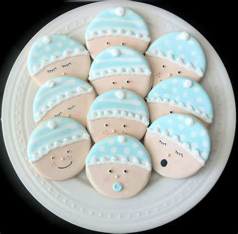 Baby Shower Cookies items similar to decorated baby shower cookies baby