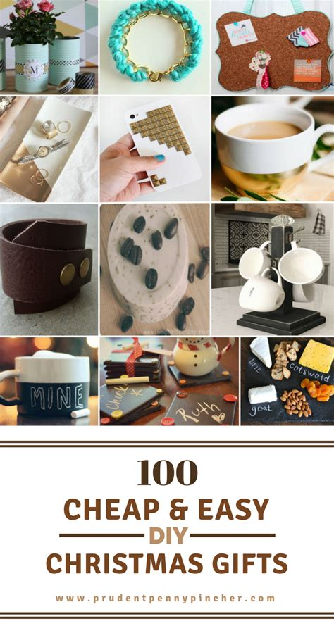 easy inexpensive gifts to make 100 cheap easy diy gifts prudent pincher