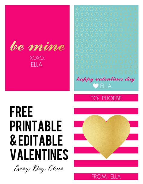 editable valentines card templates free collection of free valentines printables next to nicx