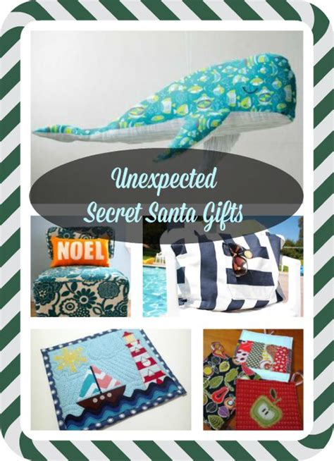 Handmade Secret Santa Gifts - practical secret santa gifts to sew seams and scissors