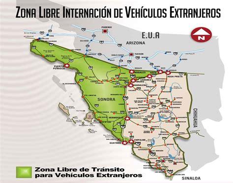 mapa de sonora mexico mapa de sonora estado mexico car interior design