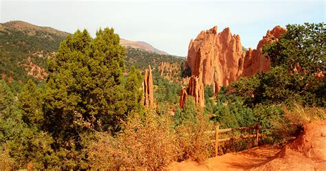 Garden Of The Gods Fall by High Dynamic Range Photography By Carl Roessler
