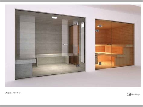 Glass Steam Room by Effegibi Glass Steam Room And Sauna By Steam And Sauna