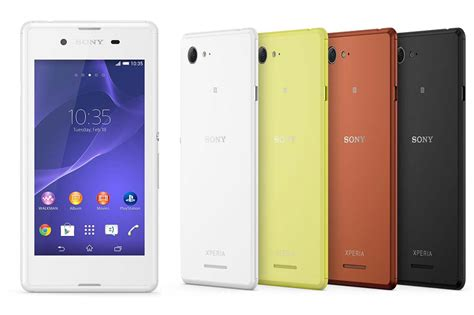 Sony Xperia E3 by Sony Xperia E3 D2203 Price Review Specifications Pros Cons