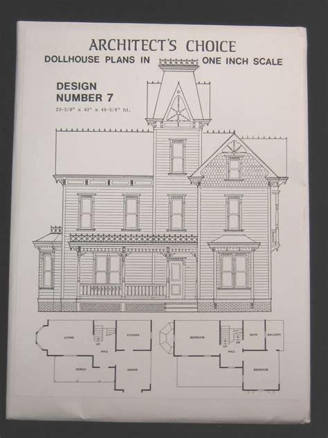 dollhouse layout dollhouse plans design 7 architect s choice 1 12 scale