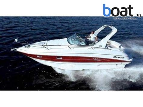 robert larson boats larson cabrio 274 mit diesel for 69 500 eur for sale at