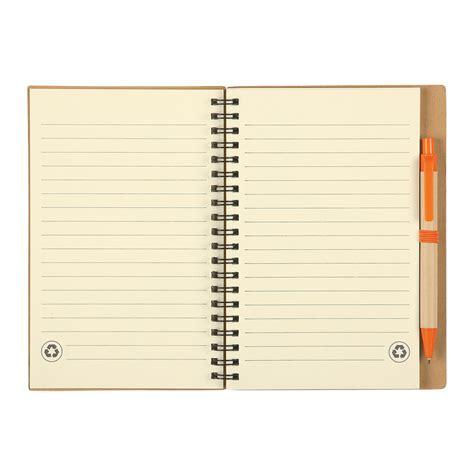 6100 Eco Inspired Spiral Notebook Pen - 6100 eco inspired spiral notebook pen