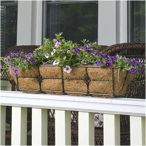 how to attach a window box how to add fabulous curb appeal with flower box ideas