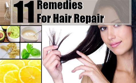 11 home remedies for hair repair treatments