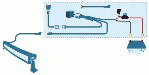 led light bar wiring harness diagram 28 images opt7