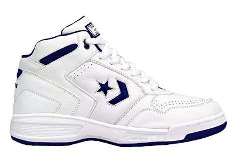 converse leather basketball shoes converse athletic basketball leather hi top white navy