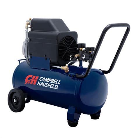 cbell hausfeld 8 gal lubed compressor hl540100av the home depot