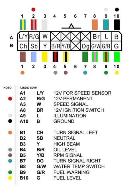 yamaha fazer fzs 600 wiring diagram 35 wiring diagram