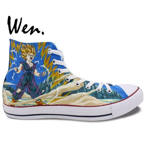 z shoes wen anime shoes unisex painted shoes custom design