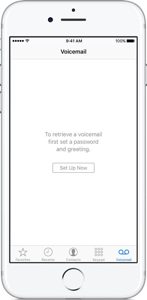 reset voicemail password iphone us cellular set up visual voicemail on your iphone apple support