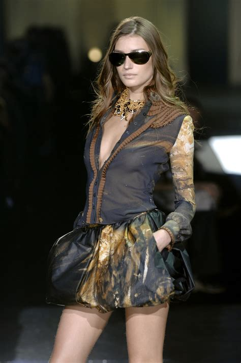 Fashion Week Fall 2007 Ivilliages Fashion Week In Second by Just Cavalli At Milan Fashion Week Fall 2007 Livingly