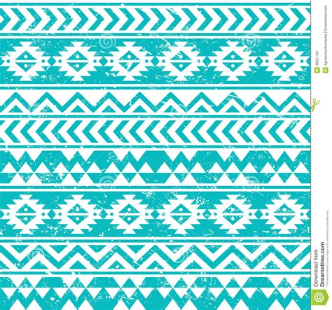 tribal pattern wallpaper for walls aztec tribal seamless grunge white pattern on blue