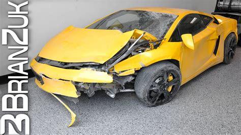 Wrecked Lamborghini by Wrecked Lamborghini Gallardo
