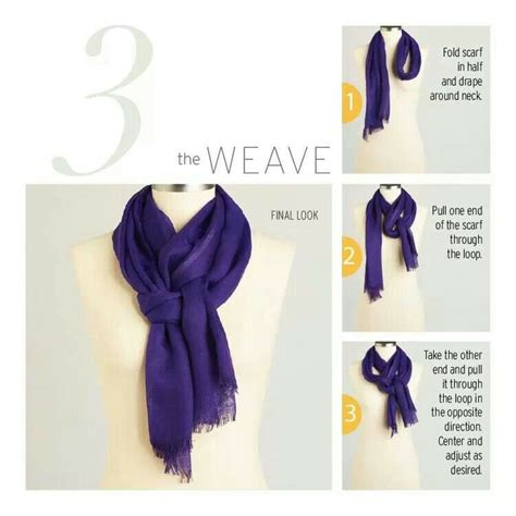 how to drape a scarf around your neck 1000 images about scarf knot tying tutorials on pinterest